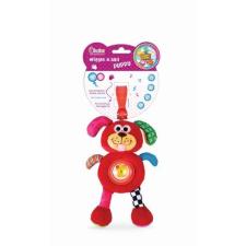 BamBam Plüss játék - Kutya csíptetővel készségfejlesztő