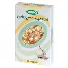 Bano fokhagyma kapszula táplálékkiegészítő