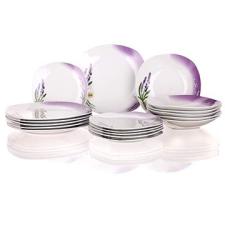 Banquet LEVENDULA A02563 tányér és evőeszköz