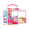 Barbie Barbie: 2 szintes ház Barbie babával