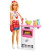 Barbie Barbie: Cukrász játékszett