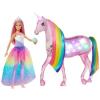 Barbie Barbie Dreamtopia csillámfény unikornis babával