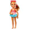 Barbie Chelsea Club: szőke Barbie kislány fürdőruhában