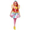Barbie Dreamtopia: rózsaszín hajú Tündér baba