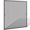 Barna szúnyogháló ablakra 120 x 140 cm