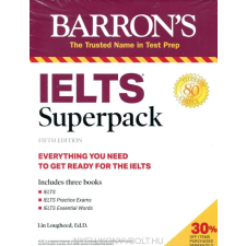 Barron's IELTS Superpack 5th Edition idegen nyelvű könyv