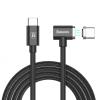 Baseus mágneses USB-C (Thunderbolt 3) töltő kábel - fekete