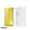 Baseus simplicity series iphone xs arany-átlátszó tpu tok
