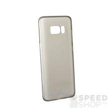 Baseus Wing Samsung G955 Galaxy S8+ hátlap tok, fekete-átlátszó tok és táska