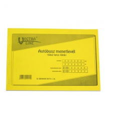 Basic AUTÓBUSZ MENETLEVÉL A/4 50X2 nyomtatvány