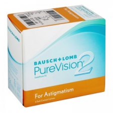 Bausch & Lomb PureVision 2 HD for Astigmatism 6 db kontaktlencse