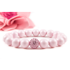 BBH Inspirations Swarovski pastel rose gyöngy karkötő Swarovski light rose kristállyal
