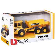 +Bburago 1/50 munkagép- Volvo A25G teherautó 18-32 autópálya és játékautó