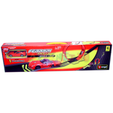 BBurago Ferrari halálkanyar pálya 1:43 autópálya és játékautó