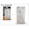 BCN Caseland Apple iPhone 6/6S szilikon hátlap - BCN Caseland Feathers Oro - gold/transparent