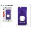 BCN Caseland Apple iPhone 7/iPhone 8 szilikon hátlap - BCN Caseland Love - lila