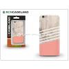 BCN Caseland Apple iPhone 7 Plus hátlap - BCN Caseland Wooden Lines Rose - pink