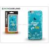 BCN Caseland Apple iPhone 7 Plus szilikon hátlap - BCN Caseland Beautiful - cyan
