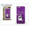BCN Caseland Apple iPhone 7 szilikon hátlap - BCN Caseland Limited Edition - lila
