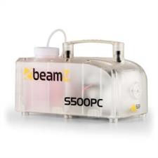 Beamz beamZ S500PC füstgép, RGB LED, 500 W, füstfolyadék, átlátszó világítás