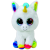 Beanie Boos TY Beanie Boos: Pixy unikornis plüssfigura - 15 cm, fehér