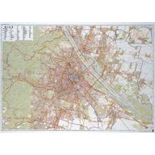 Bécs falitérkép - f&b térkép