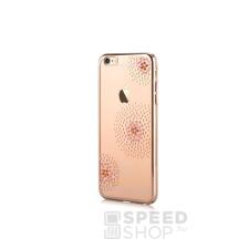 Beeyo Sony Xperia Xa virág mintás tok, arany tok és táska