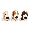 BEEZTEES játék plüss kutya 20cm