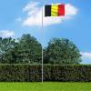Belga zászló alumíniumrúddal 6,2 m