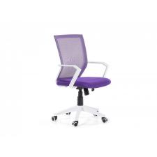 Beliani Állítható magasságú irodai szék lila RELIEF forgószék