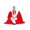 Beliani Babzsákfotel - 140 x 180 cm - Vörös