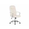 Beliani Bézs irodai szék - forgószék - mubor - TOP