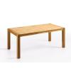 Beliani Étkezoasztal - Tölgyfa asztal - 180 cm - Világosbarna - NATURA