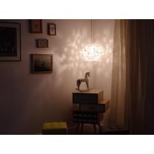 Beliani Fehér mennyezeti design függőlámpa LAMONE világítás