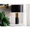 Beliani Modern fekete asztali lámpa DARLING