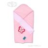Belisima Hímzett pólya Belisima Pillangó rózsaszín | Rózsaszín |
