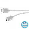 Belkin MIXIT UP Metallic USB-C to USB-C Charge Cable 1,8m Silver