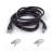 Belkin UTP Patch Cable RJ45, Cat5e, 3m, fekete (A3L791B03M-BLKS)