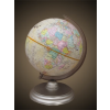 Belma 25 cm átmérőjű antik földgömb