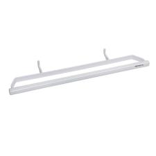 Bemeta RAWELL állítható törölközőtartó radiátorhoz, szimpla, fehér lakástextília