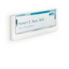 Bemutató tábla Durable Információs Click Sign 149x52.5 mm