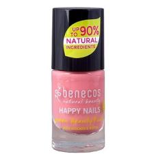 Benecos Happy Nails Green Beauty & Care Bubble Gum 5 ml körömlakk