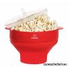 Beneo PoPuP Szilikon Popcorn Készítő Összecsukható-Piros