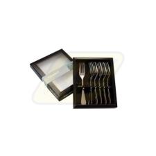 Berndorf 725785 Süteményes készlet 6 részes Carina tányér és evőeszköz