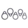 Beta 1493B/S5 5 darabos sokszögű olajszűrő leszedő kulcs készlet nehezen hozzáférhető helyekhez