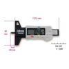 Beta 1706DGT digitális gumiprofil-mélységmérő