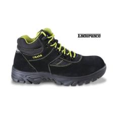 Beta 7238WR/46 hasítottbőr munkavédelmi cipő nylon betétekkel, nagyellenállású gumitalp és gyorskioldás ,vízálló, 46 méret