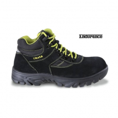 Beta 7238WR/48 hasítottbőr munkavédelmi cipő nylon betétekkel, nagyellenállású gumitalp és gyorskioldás ,vízálló, 48 méret