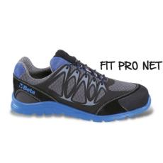 Beta 7340B/37 jól szellőző mesh szövet munkavédelmi cipő nagyfrekvenciás PU betétekkel és védő erősítéssel a hasítottbőr orrnál, 37 méret