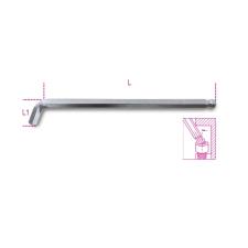 Beta 96BPA 4 110°-ban hajlított gömbfejű imbuszkulcs, extra rövid kivitel imbuszkulcs